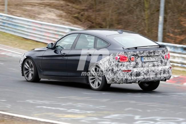 BMW Serie 3 GT 2016 - foto espía