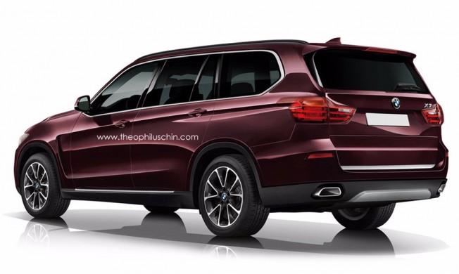 BMW X7 - recreación