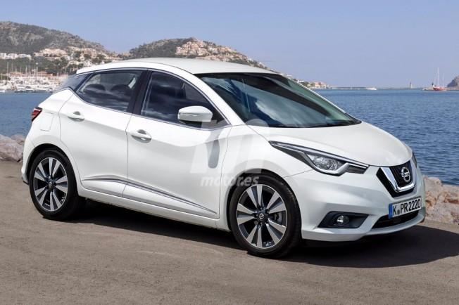 Nissan Micra 2018 - recreación