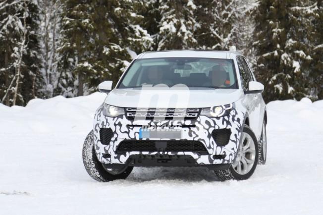Land Rover Discovery Sport 2017 - foto espía