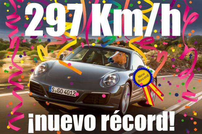 Récord de infracción por exceso de velocidad en España
