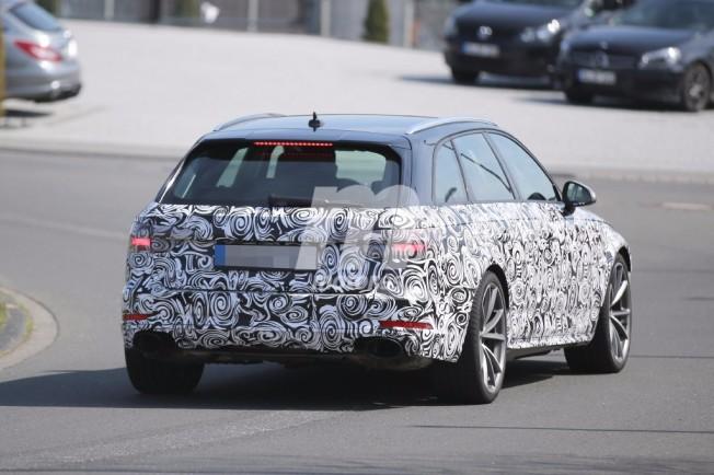 Audi RS4 Avant 2017 - foto espía