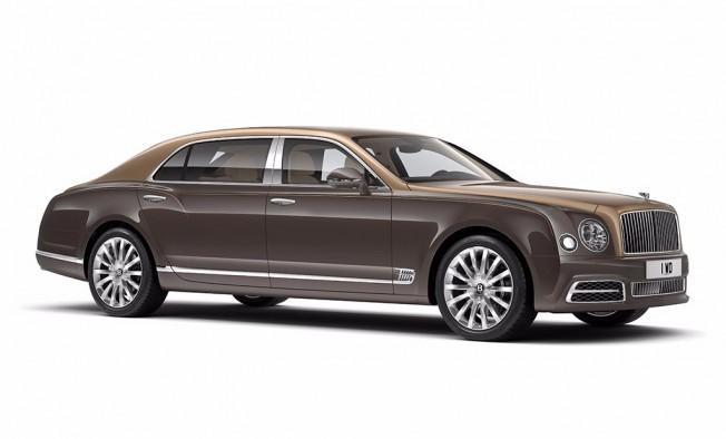 Bentley Mulsanne de batalla extendida