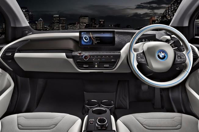 BMW i3 Carbonight - interior