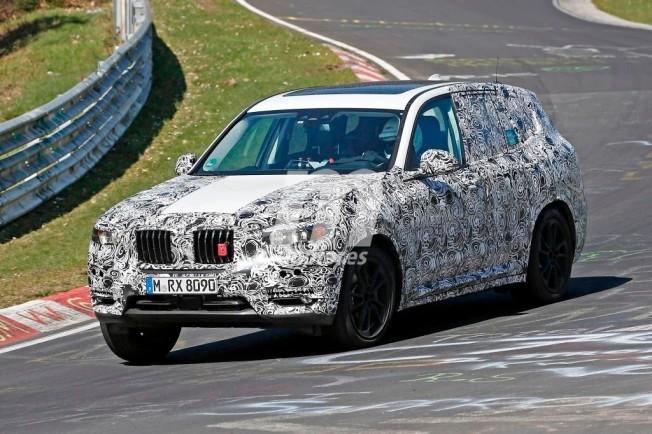 BMW X3 2017 - foto espía