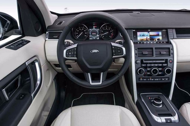 Land Rover Discovery Sport 17MY - interior