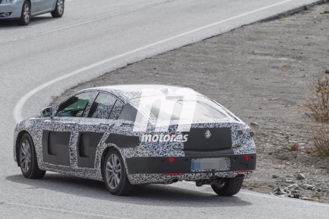 Opel Insignia 2017 - foto espía