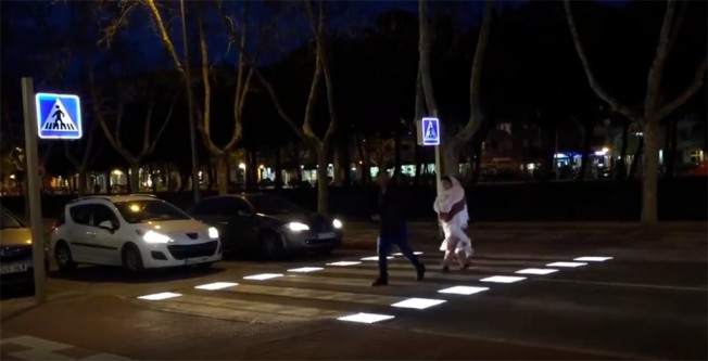 Pasos de peatones inteligente