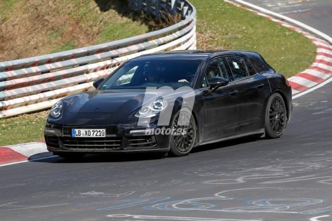 Porsche Panamera Shooting Brake 2017 - foto espía