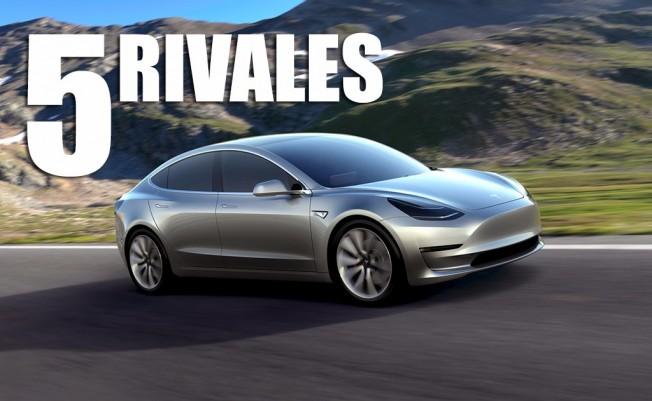 Los rivales del Tesla Model 3