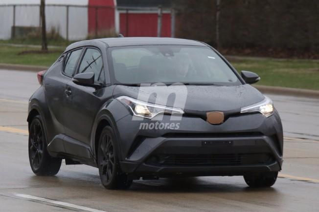 Toyota C-HR (EEUU) - foto espía