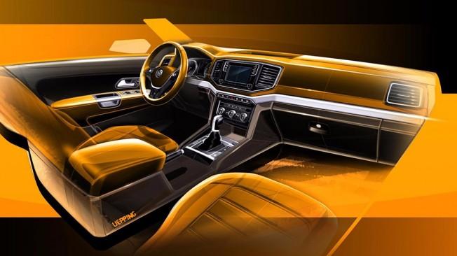 Volkswagen Amarok 2016 - boceto