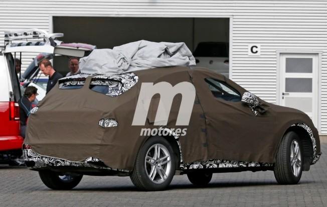Audi Q3 2018 - fotos espía