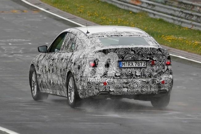 BMW Serie 5 GT 2017 - foto espía