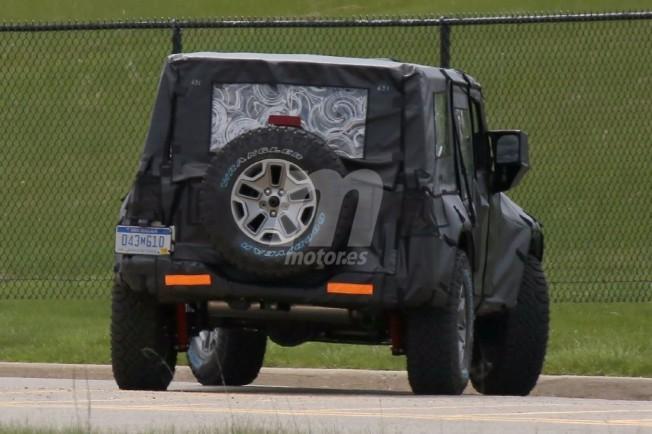 Jeep Wrangler 2018 - foto espía