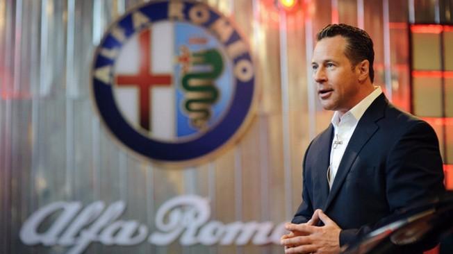 Reid Bigland CEO de Alfa Romeo y Maserati