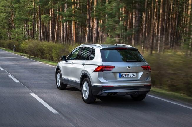 Volkswagen Tiguan 2016 - posterior