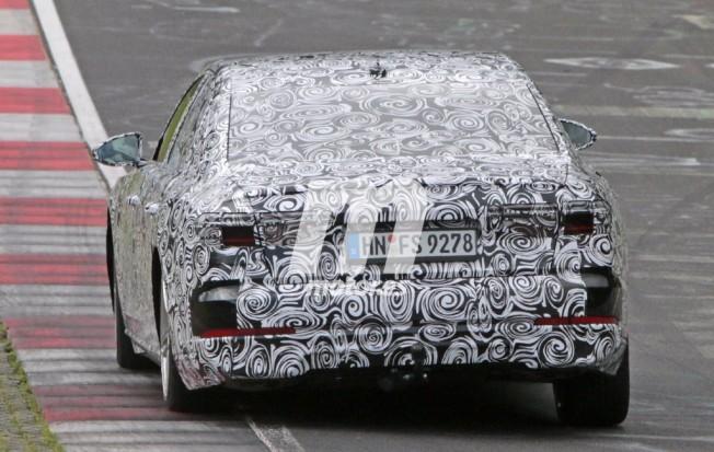Audi A8 2017 - foto espía