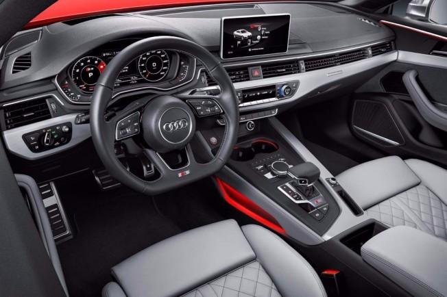 Audi S5 2016 - interior