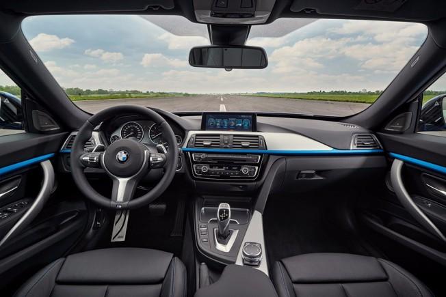 BMW Serie 3 GT 2016 - interior