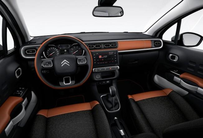 Citroën C3 2017 - interior