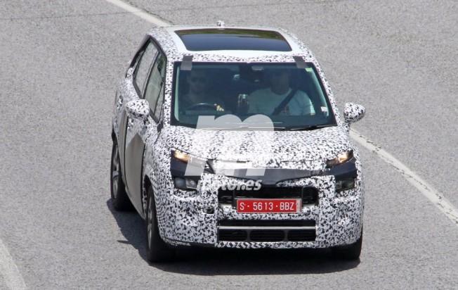 Citroën C3 Picasso 2017 - fotos espía