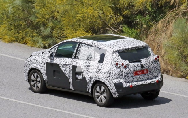 Citroën C3 Picasso 2017 - foto espía