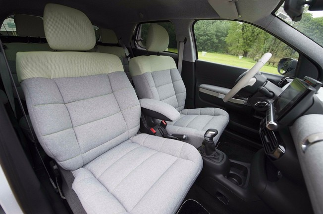 Citroën trabaja en unos nuevos asientos