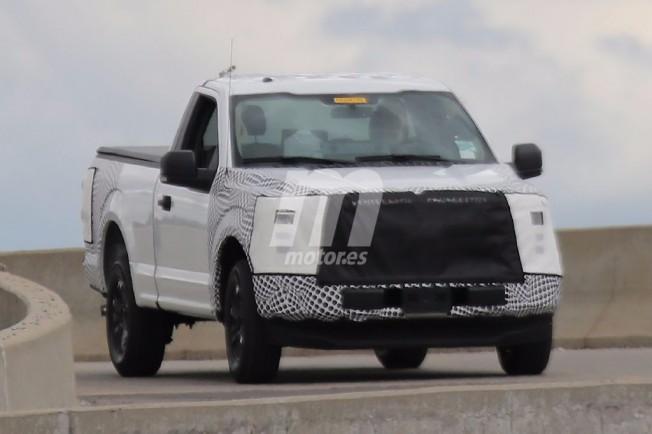 Ford F-150 2017 - foto espía