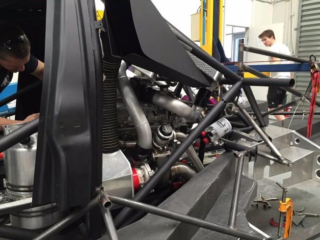 Ford Focus con motor del Nissan GT-R