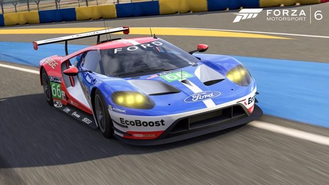 Ford GT de Competición en Forza Motorsport 6