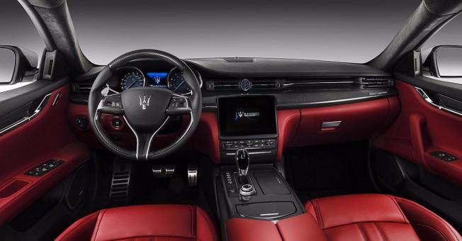 Maserati Quattroporte 2016 - interior