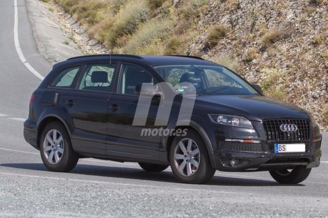 Volkswagen Touareg 2017 - foto espía