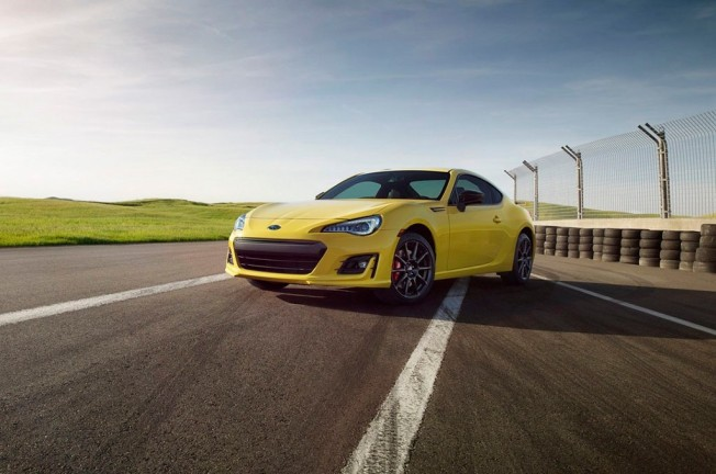 Subaru BRZ Series.Yellow 2017
