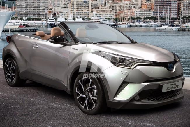 Toyota C-HR Cabrio - recreación