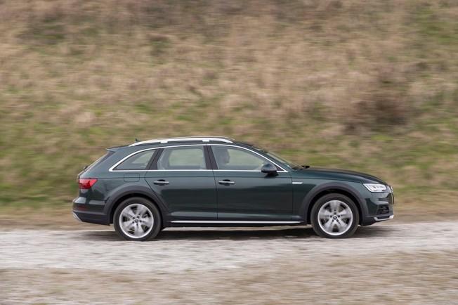 Audi A4 Allroad quattro 2.0 TDI - lateral