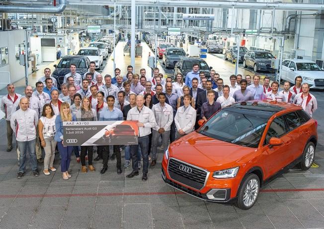 Audi Q2 - producción