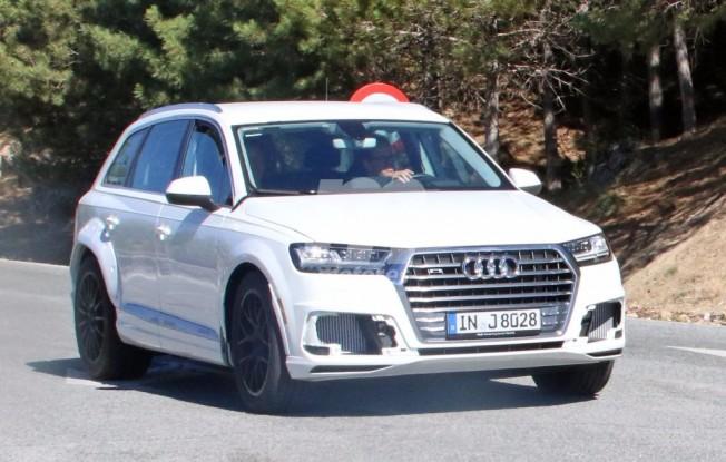Audi Q8 - foto espía