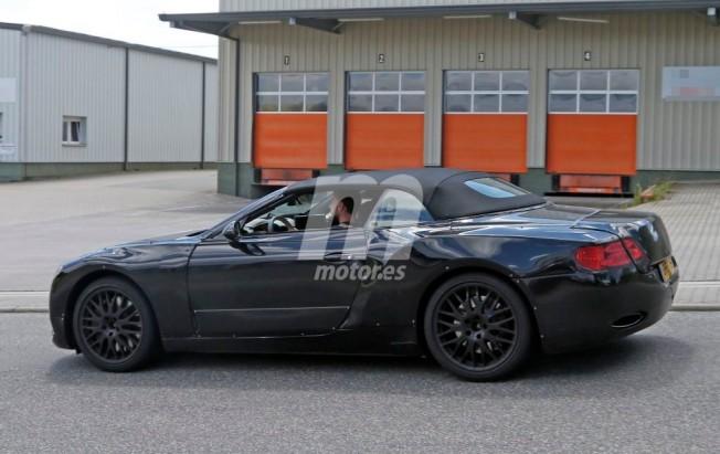 Bentley Continental GT Cabrio 2018 - foto espía
