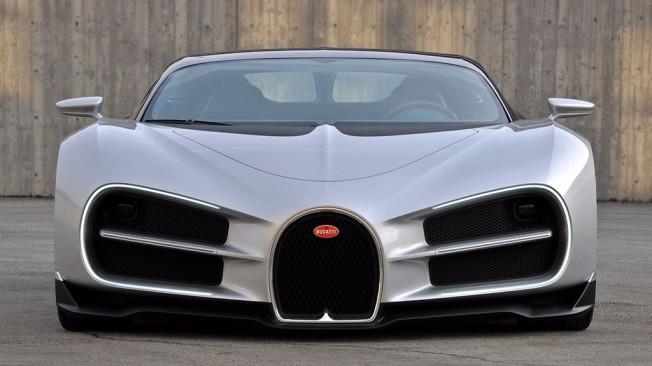 Bugatti Chiron - diseño original
