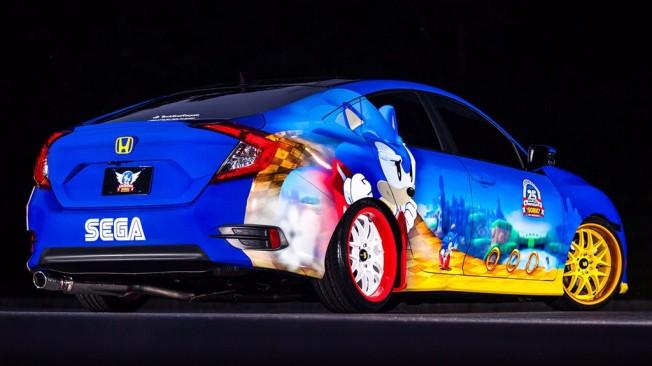 Honda Civic Sedán Sonic the Hedgehog