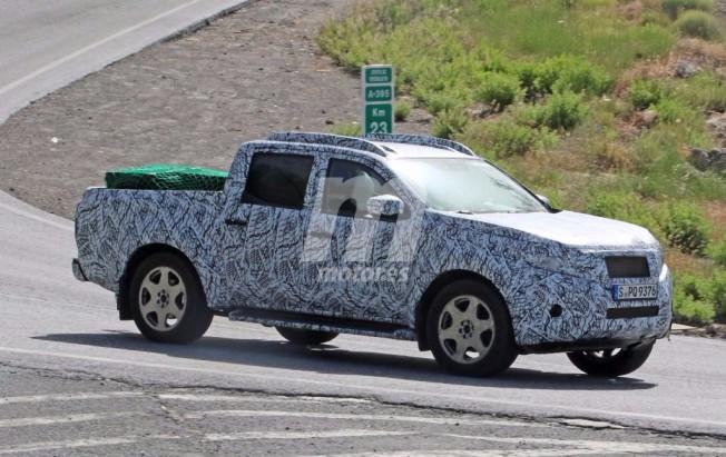 Mercedes GLT Pick-up - foto espía