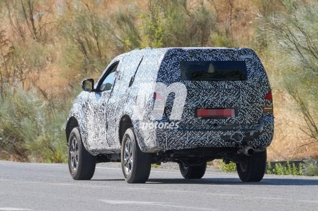 Nissan Pathfinder 2018 - foto espía