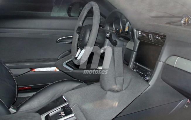 Porsche 911 GT3 2017 - foto espía interior