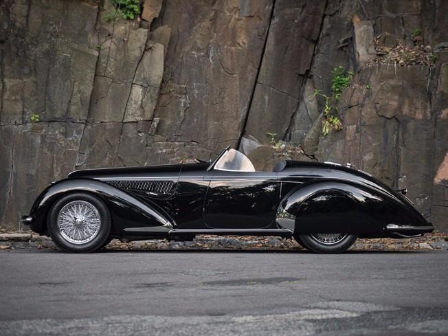 Alfa Romeo 8C 2900B Lungo Spider de 1939 por Carrozzeria Touring Superleggera