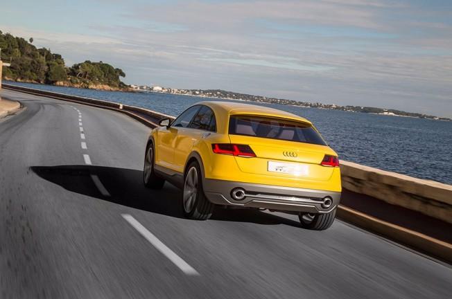 Audi TT Offroad Concept - posterior