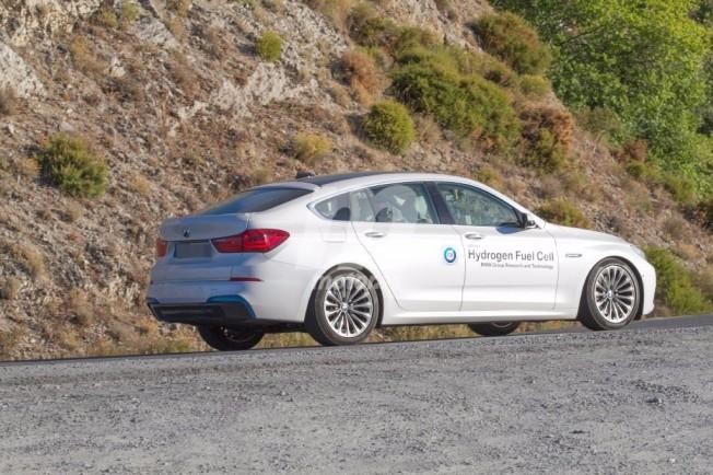 BMW Pila de Combustible - foto espía