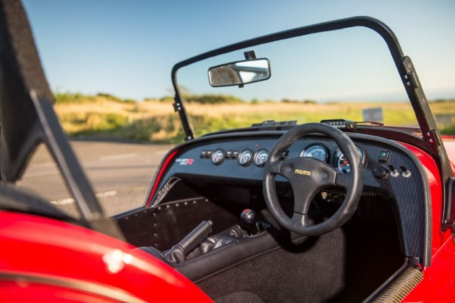 Caterham Seven 310R - interior