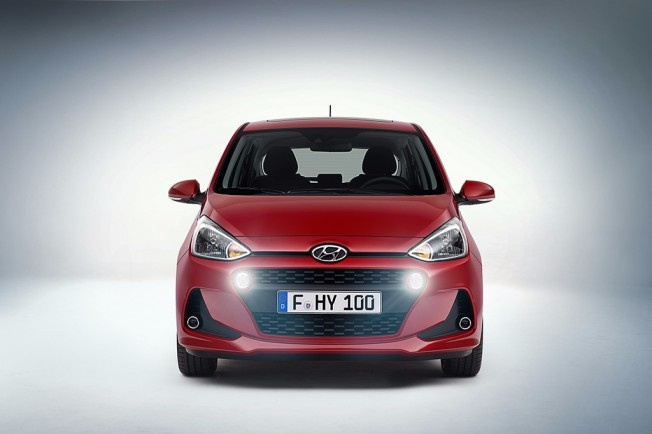 Hyundai i10 2017 - frontal