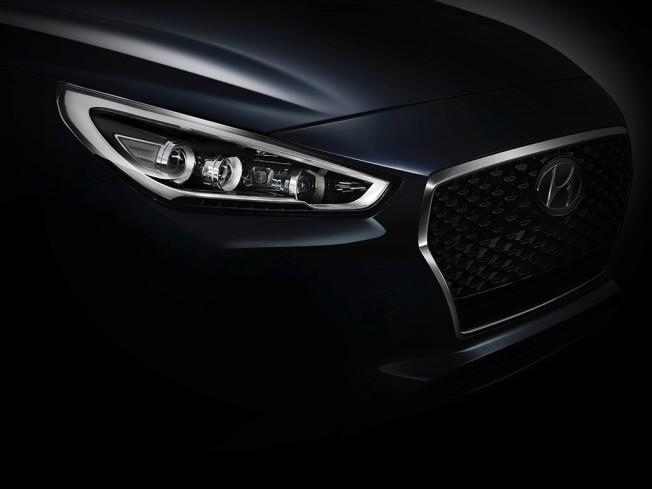 Hyundai i30 2017 - teaser